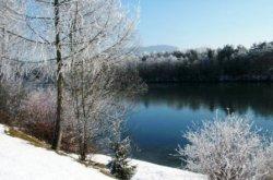 Winterliche Drau
