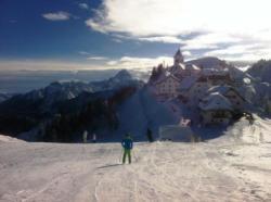 Schifahren in 35 Minuten in Tarvis - Monte Lussari