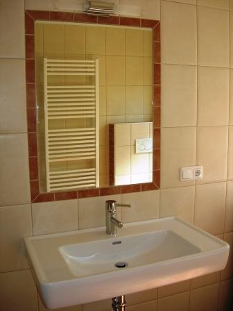 Unser Badezimmer im mediteranen Stil