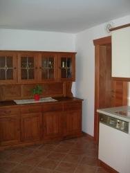 Modern und alt in der Küche