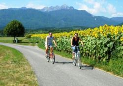 Radfahren mit Aussicht